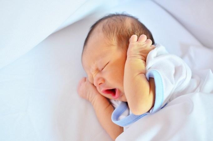 bebe recien nacido pequeño
