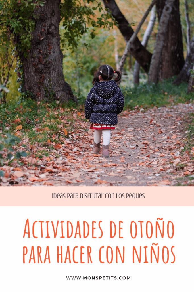 Activitades de otoño para hacer con niños