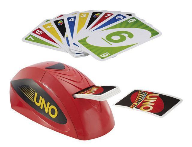 uno juego cartas mesa infantil juguete uno attack