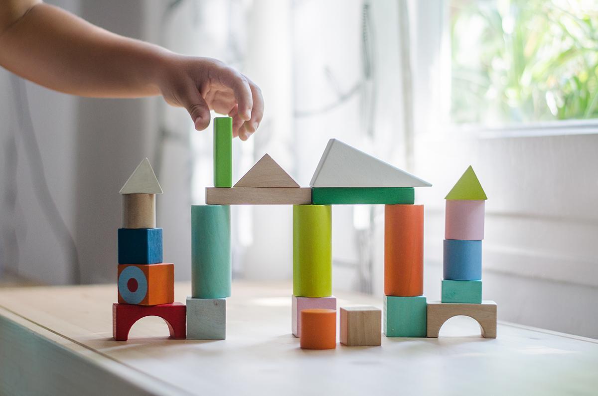 juguetes educativos construcciones madera piezas