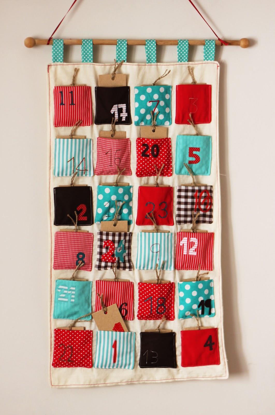 calendari advent tela patchwork cosir