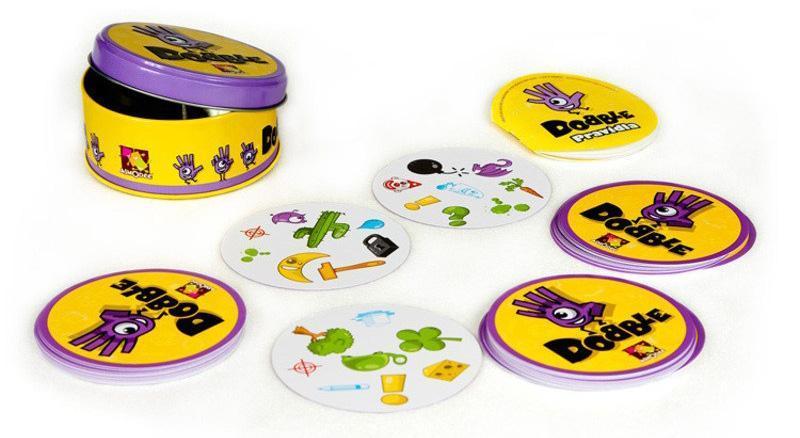 juego mesa dobble infantil juguete educativo