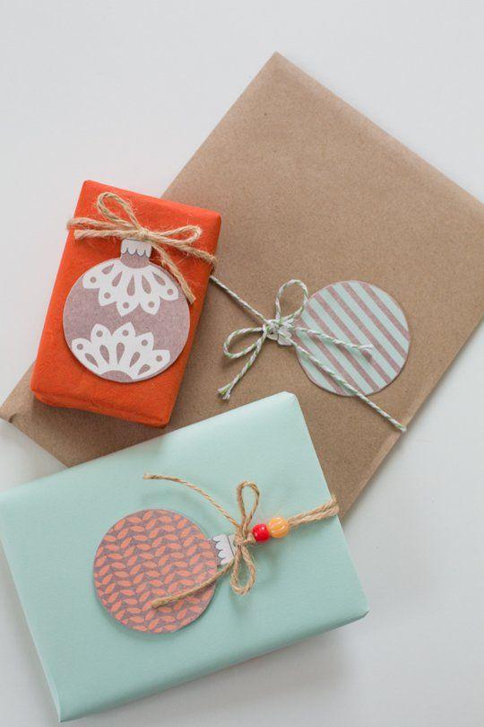 christmas gift wrapping tags etiquetas para regalos de navidad diy