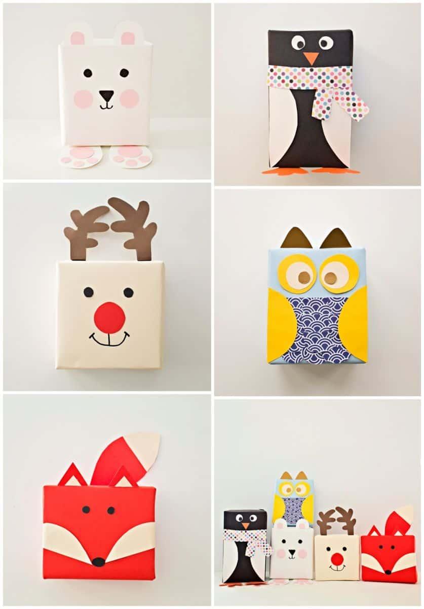 christmas gift wrapping ideas para envolver regalos de navidad 10