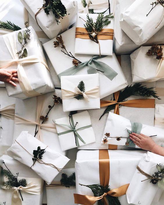 christmas gift wrapping ideas para envolver regalos de navidad 5