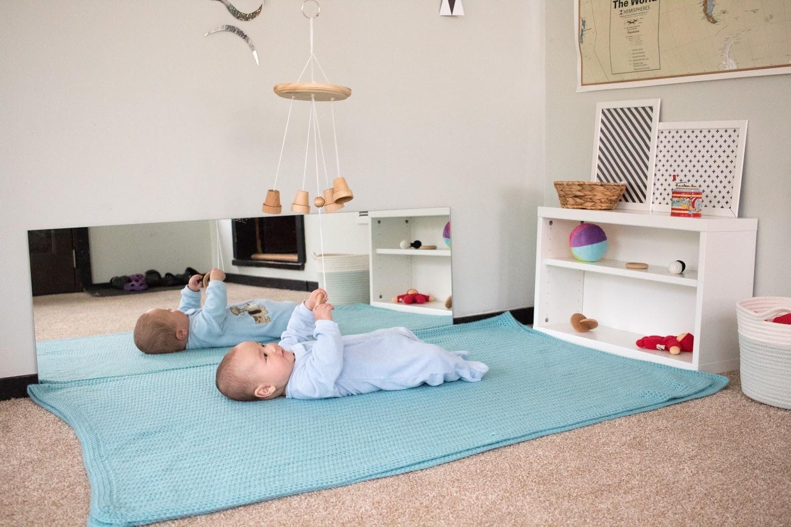 montessori bedroom - habitacion infantil - dormitorio montessori - mirror - espejo 2