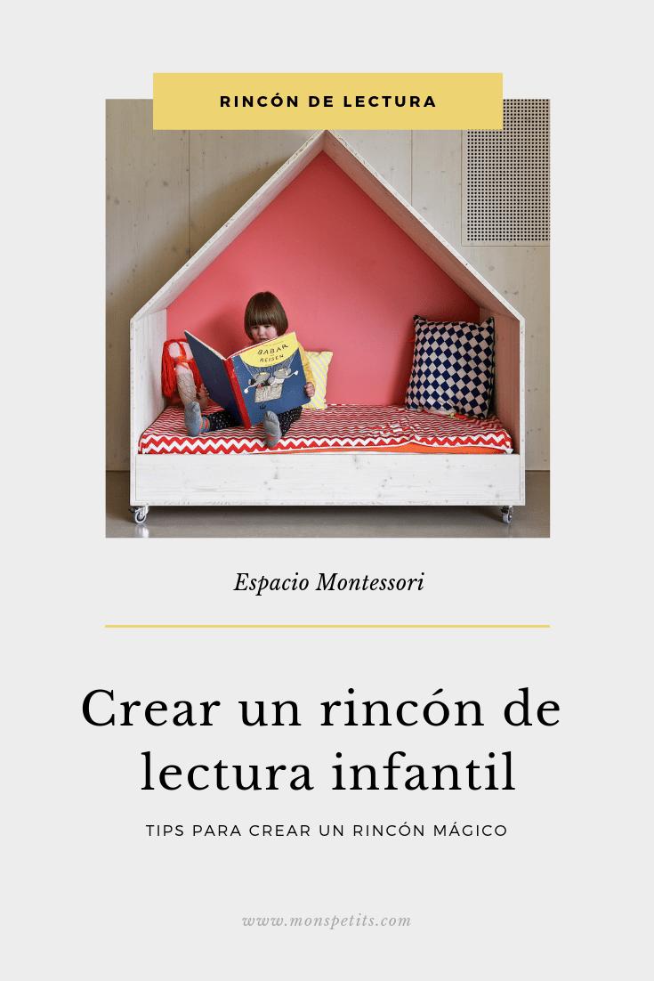 Crear un rincón de lectura infantil - Espacio Montessori - Reading Nook for Kids