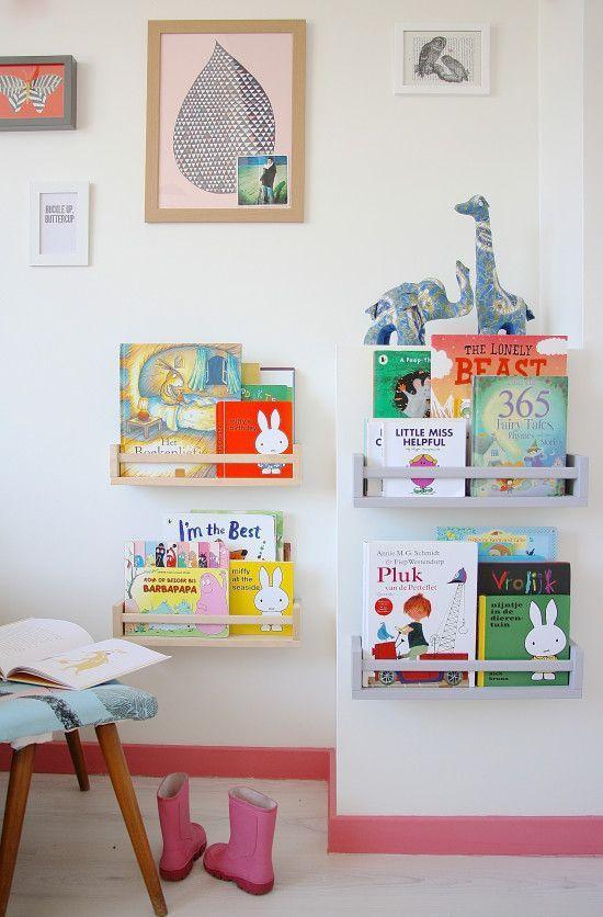 Ideas para crear un rincon de lectura Montessori infantil 11