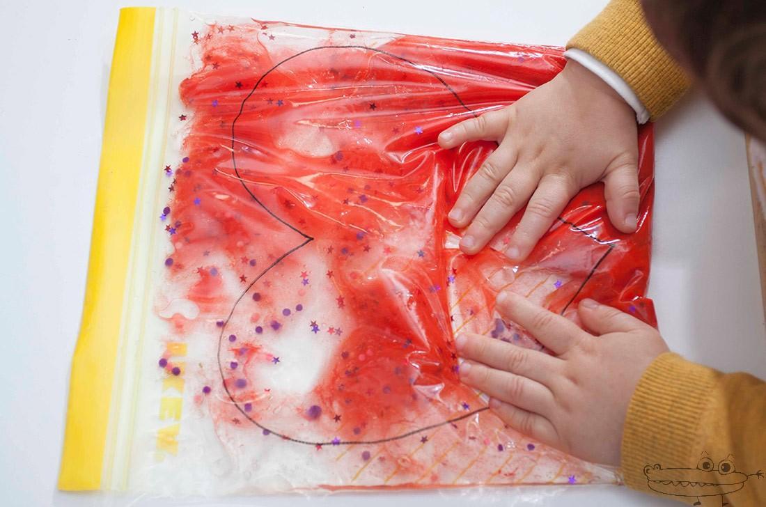 bolsa sensorial niños - actividades estimulacion sensorial para niños - sensory play activities for children