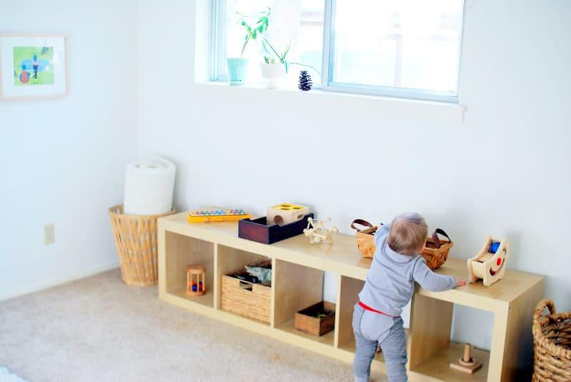montessori nursery room - habitacion bebe montessori 3