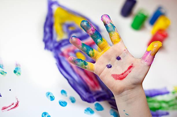 Actividades Sensoriales en Casa - Pintar con los dedos - Finger Painting