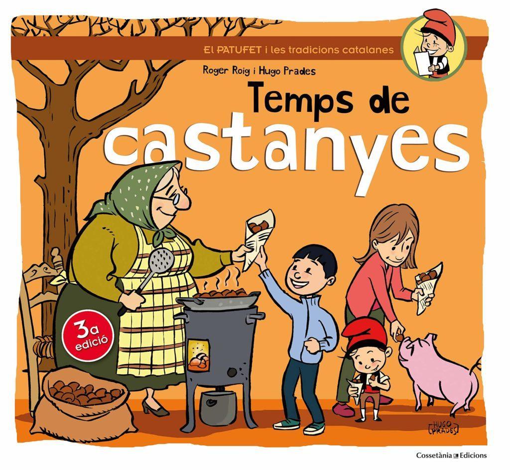 temps de castanyes - libros de otoño para niños - autumn children books - contes de tardor