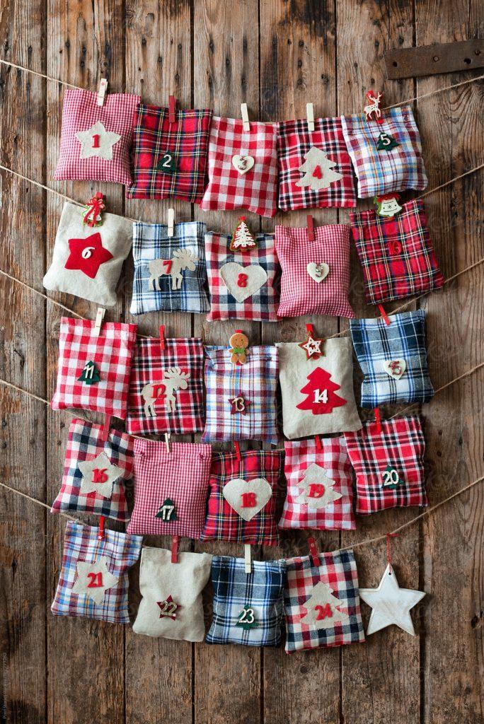 Calendario Adviento Navidad - Christmas Advent Calendar DIY Homemade