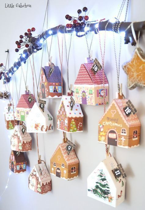 Calendario Adviento Navidad DIY - Christmas Advent Calendar Homemade