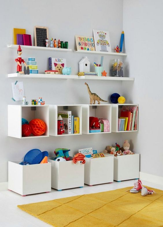 toy organization hacks - ideas de organizacion de juguetes 10