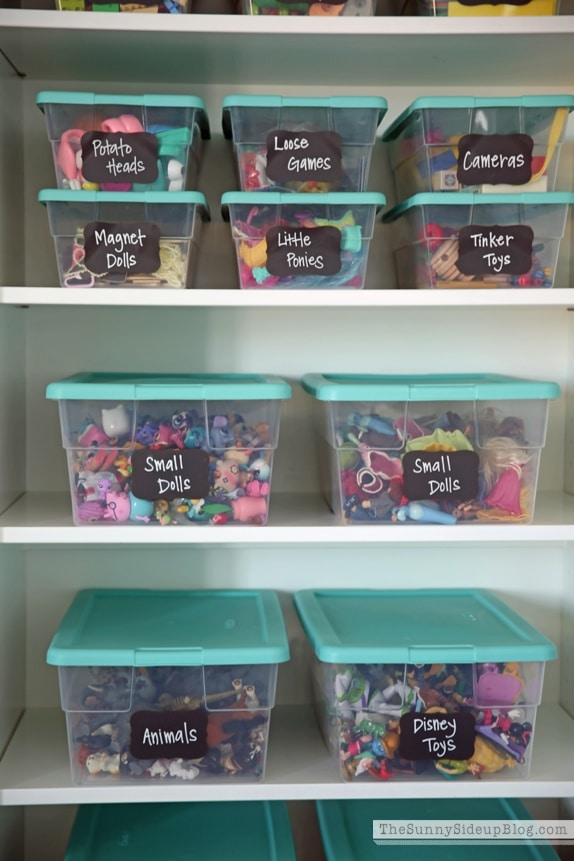 toy organization hacks - ideas de organizacion de juguetes 13