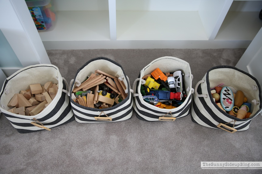 toy organization hacks - ideas de organizacion de juguetes 14