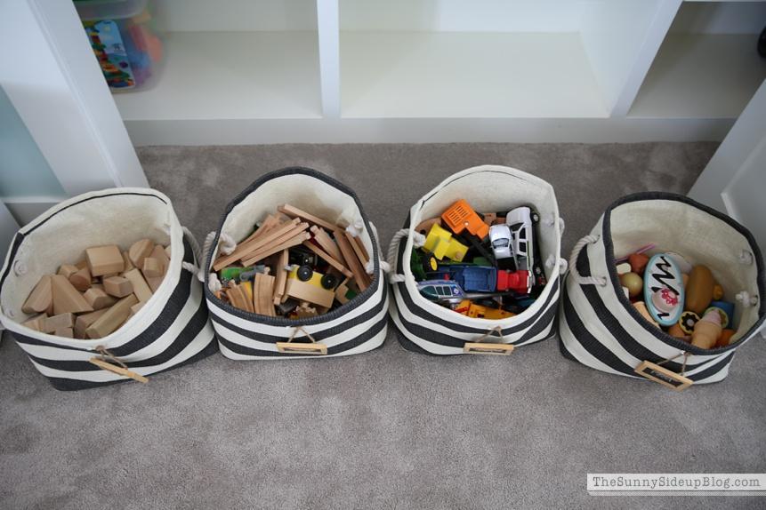 toy organization hacks - ideas de organizacion de juguetes 14