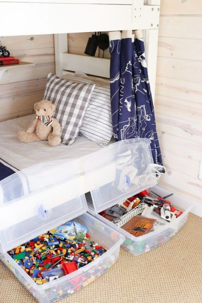 toy organization hacks - ideas de organizacion de juguetes 9