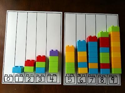 Actividades matemáticas para aprender los numeros - Math Activities to learn the numbers preschool kindergarten 13