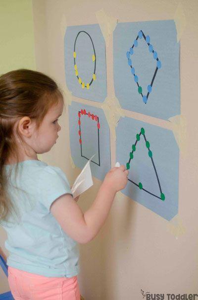 Actividades matemáticas para aprender los numeros - Math Activities to learn the numbers preschool kindergarten 16