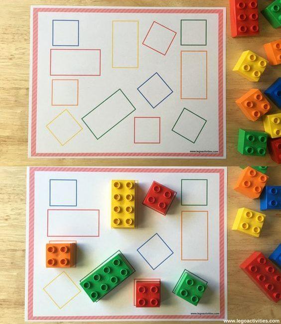 Actividades matemáticas para aprender los numeros - Math Activities to learn the numbers preschool kindergarten 18