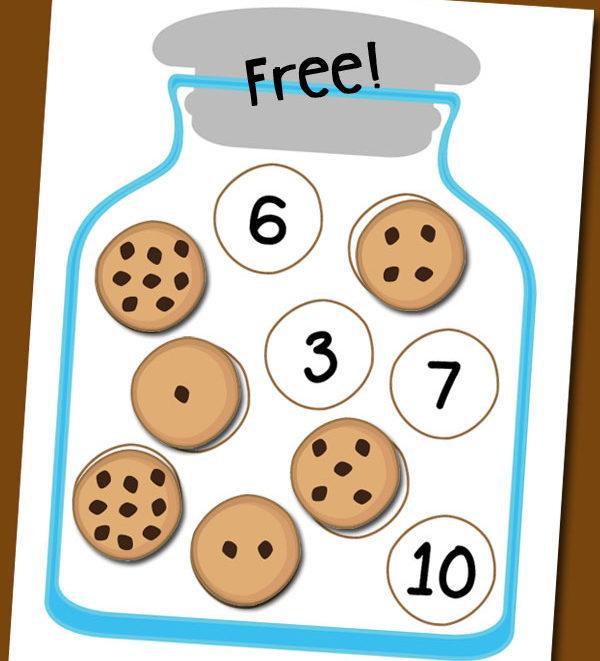 Actividades matemáticas para aprender los numeros - Math Activities to learn the numbers preschool kindergarten 3