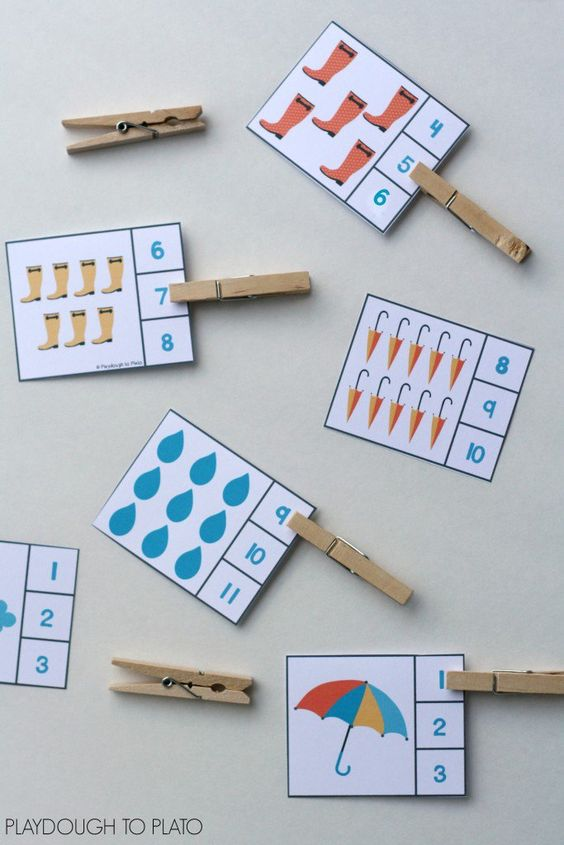 Actividades matemáticas para aprender los numeros - Math Activities to learn the numbers preschool kindergarten 4