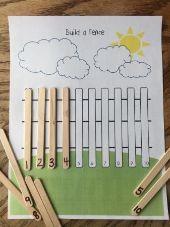 Actividades matemáticas para aprender los numeros - Math Activities to learn the numbers preschool kindergarten 5