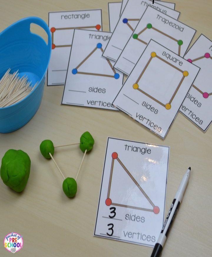 Actividades matemáticas para aprender los numeros - Math Activities to learn the numbers preschool kindergarten 6
