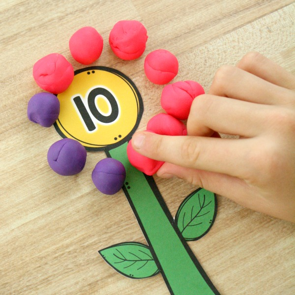 Actividades matemáticas para aprender los numeros - Math Activities to learn the numbers preschool kindergarten 8