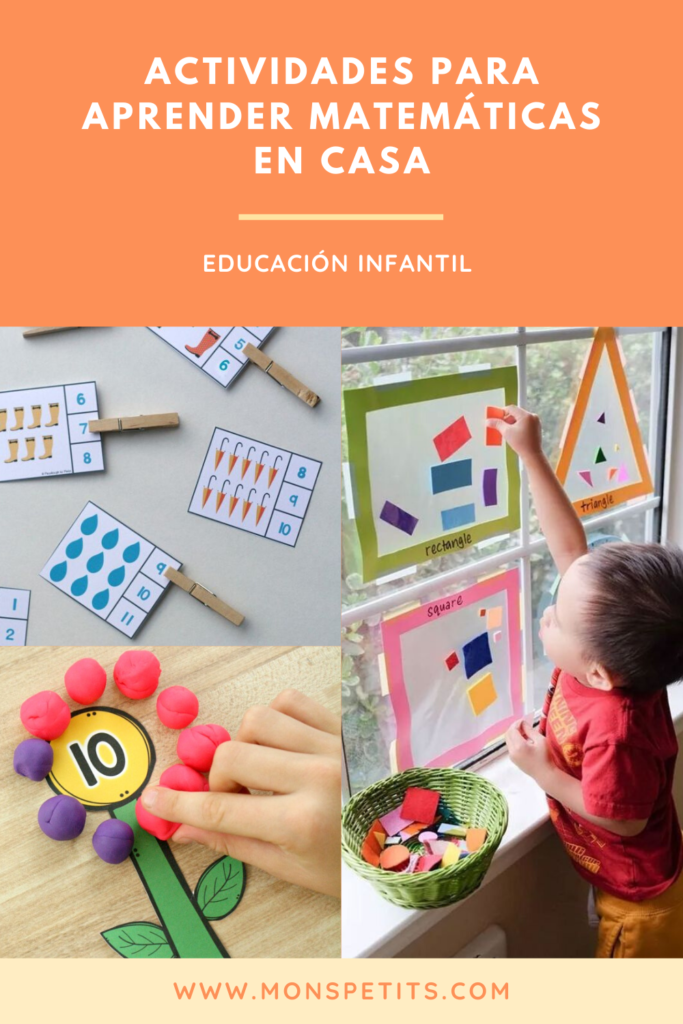 Actividades para aprender matematicas y numeros en casa - Activities to learn math and numbers at home - Preschool - Kindergarten - Educacion Infantil