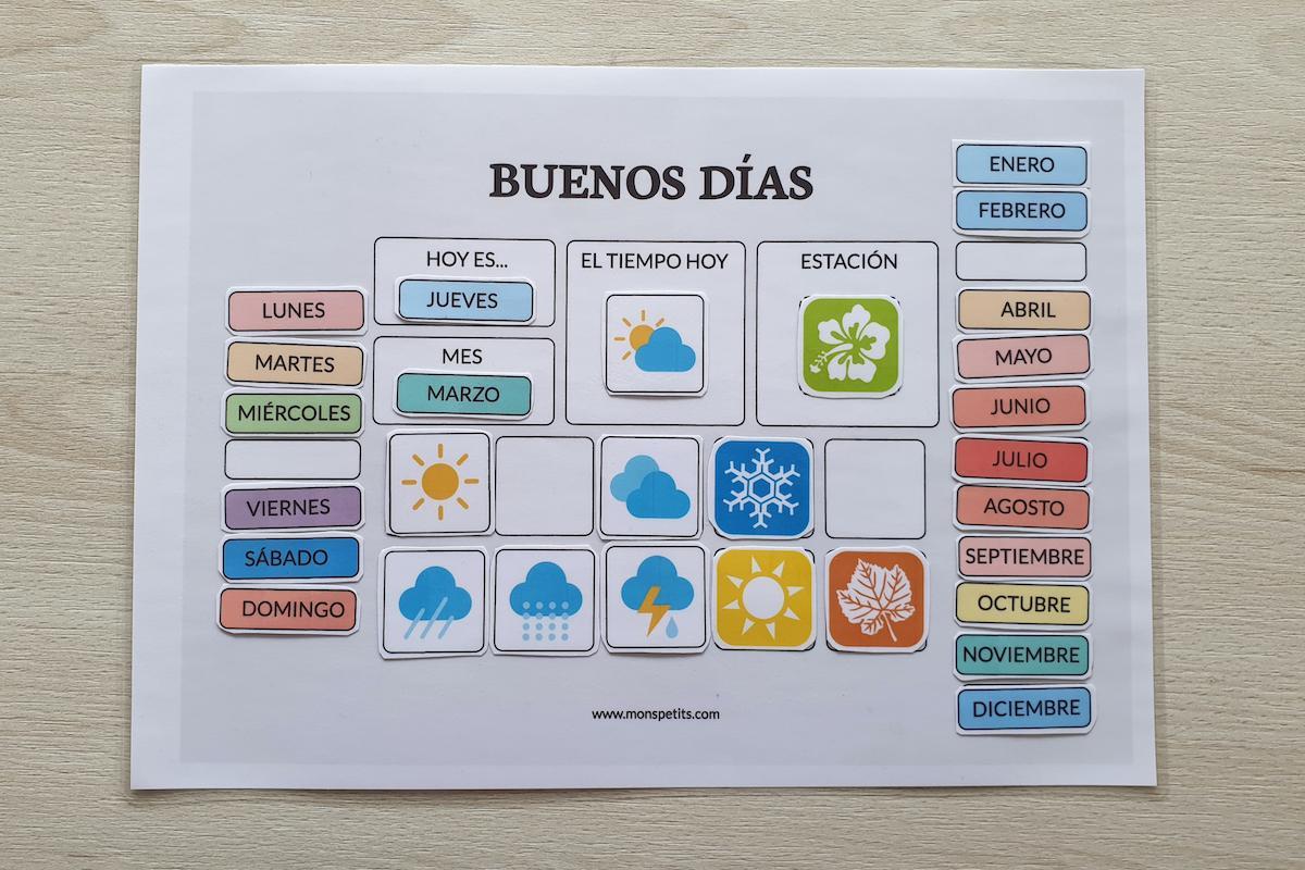 Plantillas De Rutinas Para Niños Para Descargar E Imprimir Gratis Yomequedoencasa Mons Petits