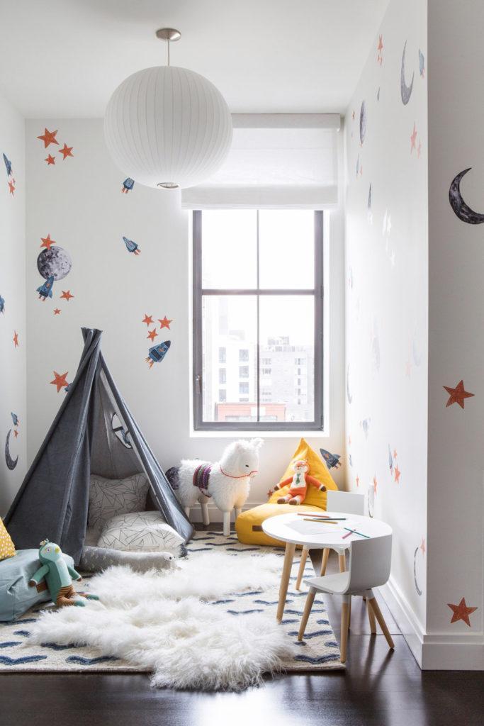 Ideas playrooms grandes pequeñas minimalistas montessori 7