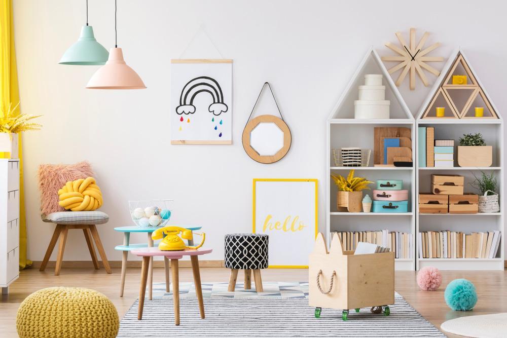 Ideas playrooms grandes pequeñas minimalistas montessori 8