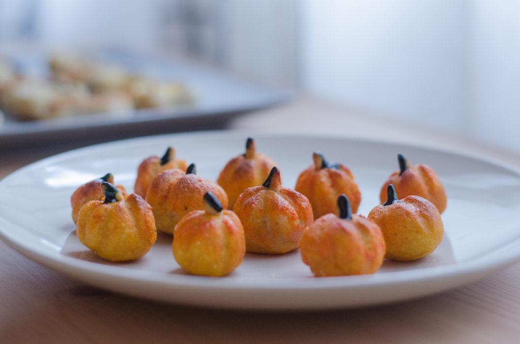 Receta de panellets estilo Halloween - Cocina casera - Cuina casolana - Recepta panellets tradicional