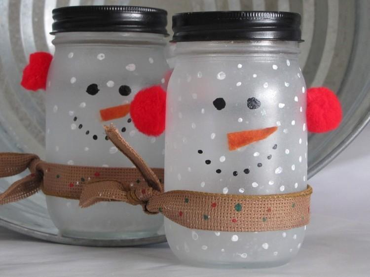 Manualidades para Navidad para hacer con niños en casa - Christmas Crafts with Kids to make at home - Frasco de Navidad