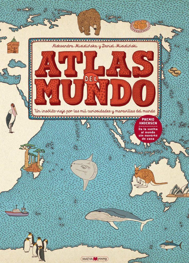 Recomendacion Libros y Cuentos Navidad - Atlas del Mundo