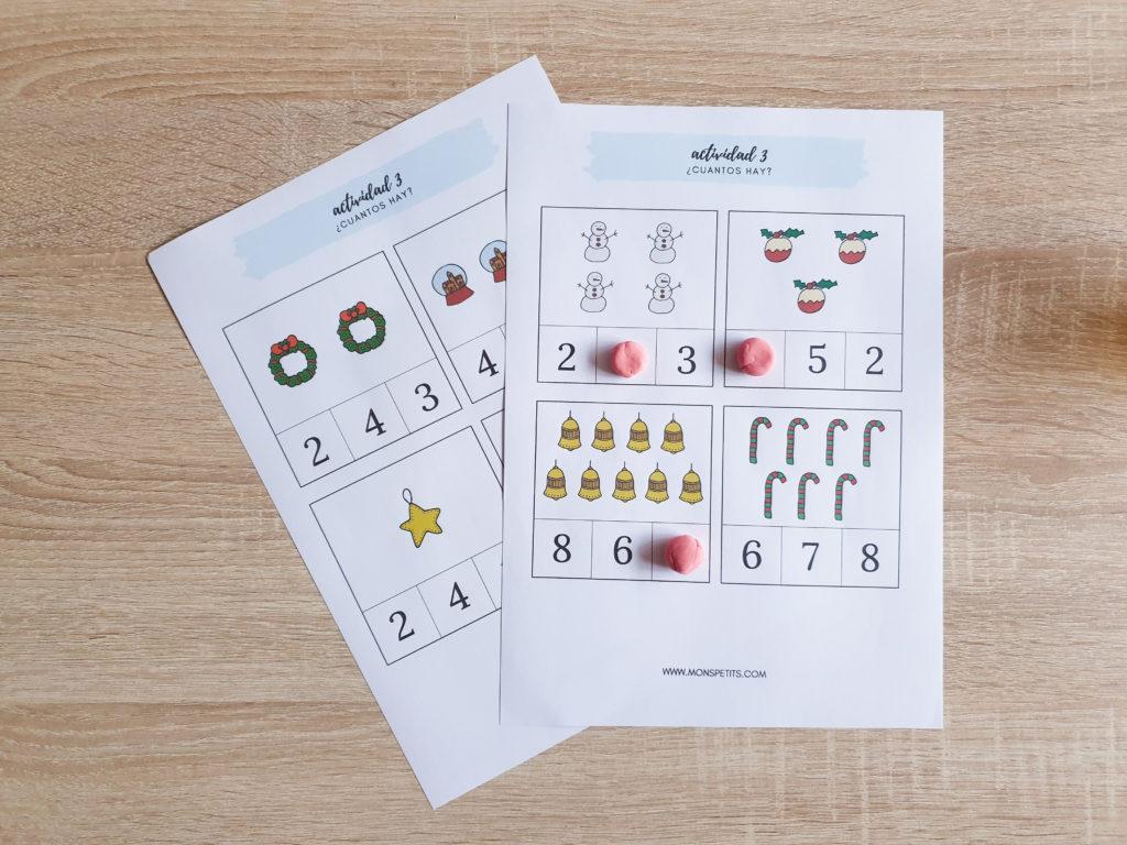 Dossier de Navidad Gratuito - 25 actividades Más de 80 Páginas - Descargable Gratis - Listo para imprimir. 5