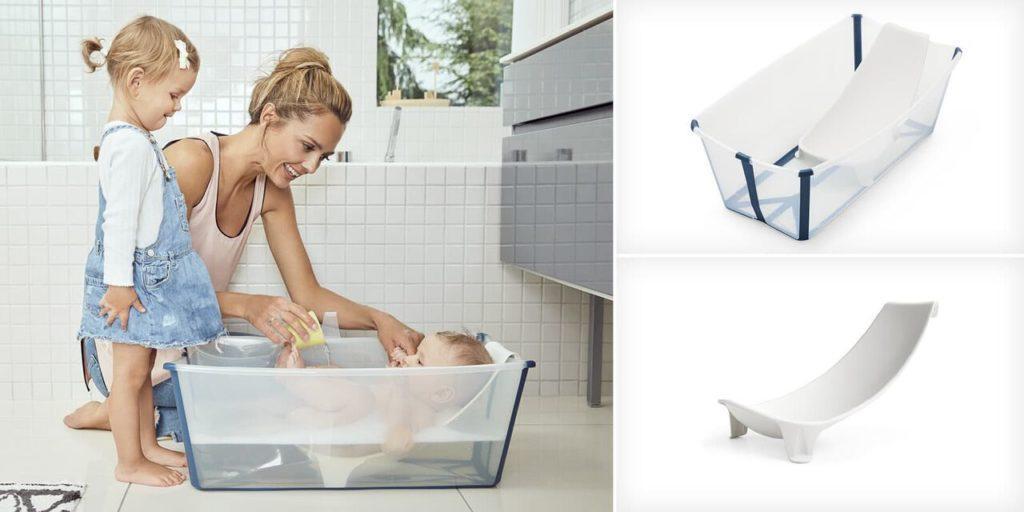 Imprescindibles para la llegada del bebe - Bañera para bebe Stokke