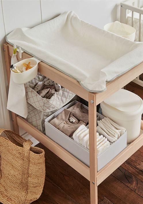 Imprescindibles para la llegada del bebe - Cambiador Ikea bebe