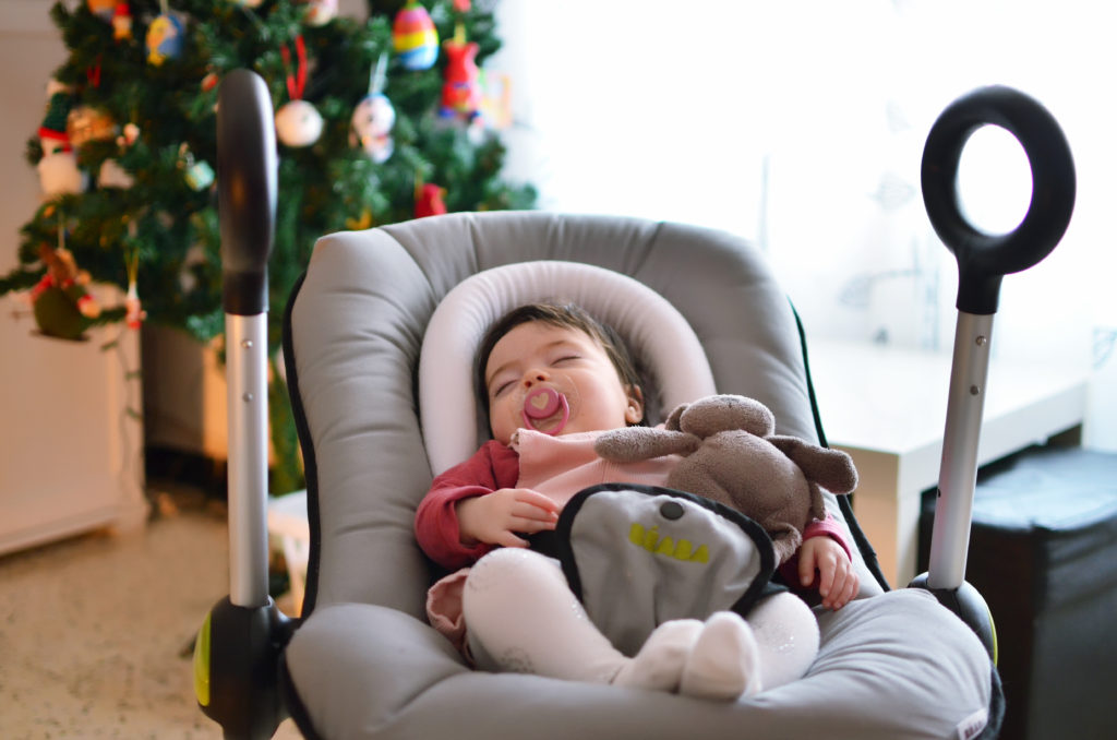 Imprescindibles para la llegada del bebe - Hamaca Beaba Elevable