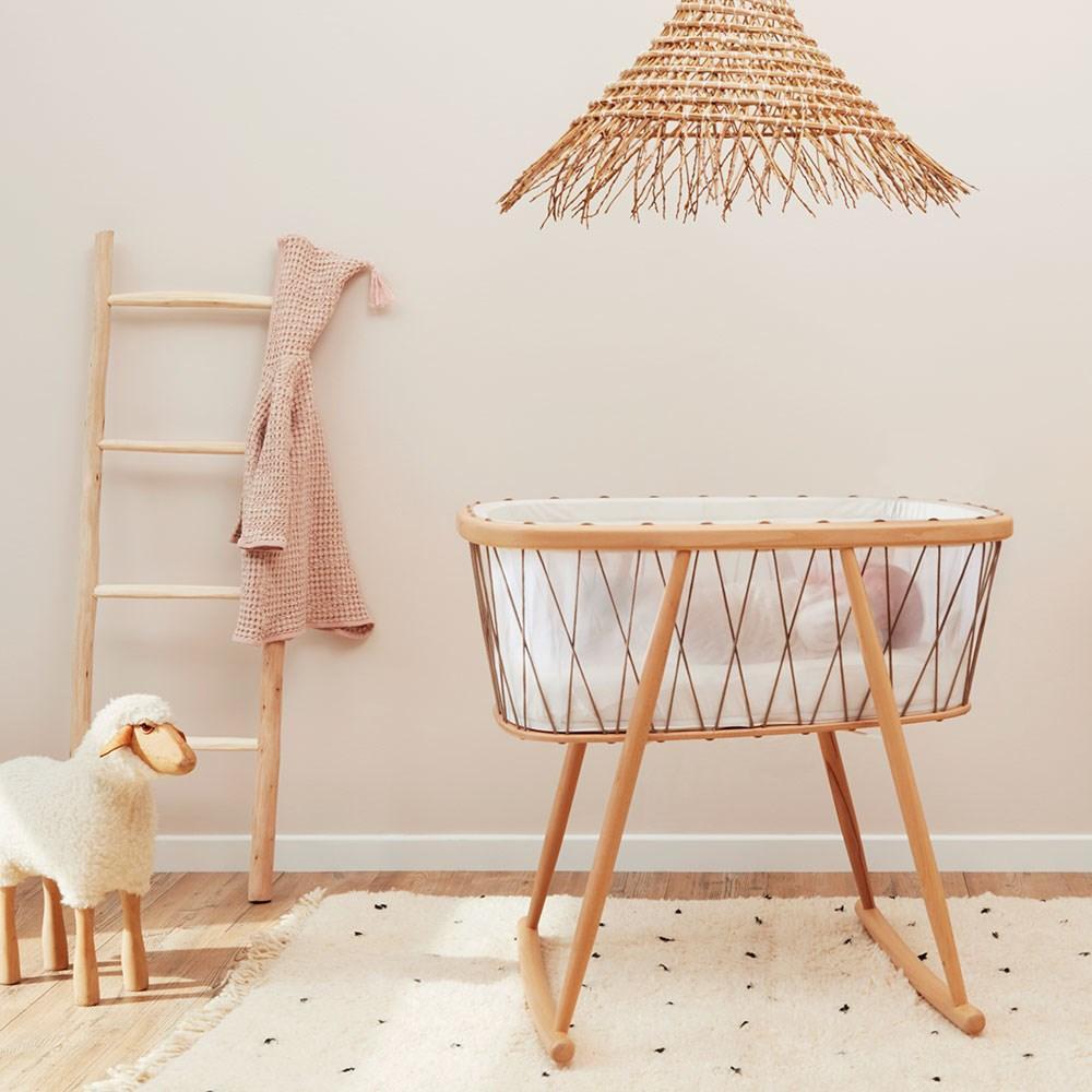 Imprescindibles para la llegada del bebe - Minicuna bebe Madera de Charlie Crane