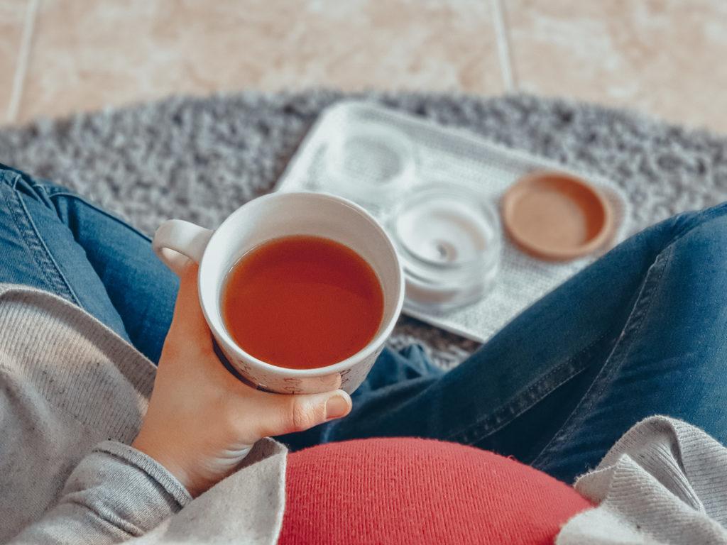 Amenaza de parto prematuro - mi experiencia - reposo relativo, tomando te, descansando